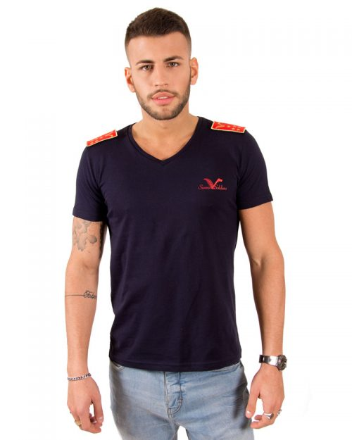 SOLDIER'S BLUE NAVY T-SHIRT