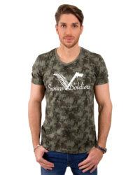 Camo Woodland T-Shirt